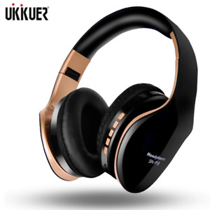 New Wireless Headphones With Microphone Bluetooth Headset Foldable UKKUER SN P18