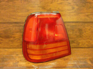 Suzuki Swift 4 Door: 1990, 1991, 1992, 1993, 1994, Left - Driver Tail Light