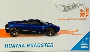 Hot Wheels Toys ID Pagani Huayra Cars Limited Run Smart Track Series BNIB