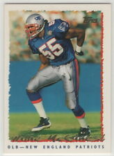 1995 Topps Football New England Patriots Complete team set