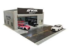 1:64 Scale WORK Garage Workshop - Diorama Building Kit for Hot Wheels