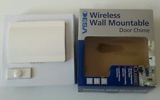 wireless wall mountable door chime