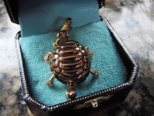 JUICY COUTURE CHARM TURTLE PRE-OWNED RARE! with box
