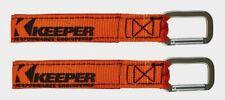 2 ~ Keeper Wrap-It-Up Orange Bundling Strap Uv Resist Waterproof Carabiner 05268