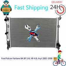 Radiator For Ford Falcon Fairlane BA BF 5.4L V8 4.0L 6cyl 2002-2008 Auto/Man