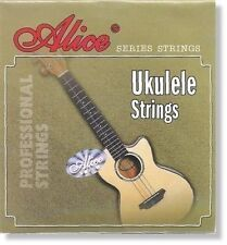 Alice UKULELE STRINGS AU04 Soprano Set Standard Tuning CGEA Clear Nylon Key of C