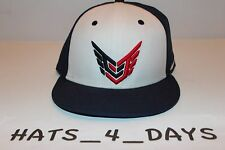 Nike Calvin Johnson 81 Megatron Navy Blue White Red Snapback Football Hat New