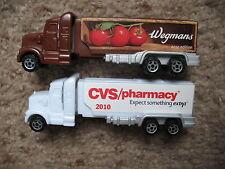Pez Retired Wegman's Tomatoes and CVS Advertising Haulers - Both Mint