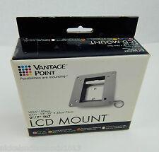 "Vantage Point LCD TV Monitor Mount Vesa- 100mm 13""-30"" Screen 0º/ 7º Tilt NEW"
