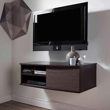Wall Mount TV Panel Stand Media Console Center Storage Shelves Floating Unit 38""