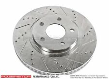 Disc Brake Rotor-Cross-Drilled Slotted Front Power Stop fits 04-08 Ford F-150