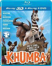 Khumba 3D (3D Blu-ray/Blu-ray + DVD) NEW