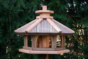 Vogelhaus aus holz  Futterhaus Futterhäuschen Vogelvilla