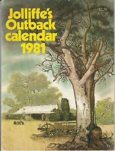 "Jolliffe's Outback Calendar 1981 ""Unused & Very Nice"""