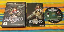 MAXIMO per PS2 - vers PAL UK 1ªSTAMPA - OTTIMO E COMPLETO - MULTILINGUA!