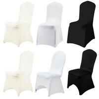 10/50/100/200 x Spandex Stretch Folding Chair Cover Elastic Covers Wedding Party