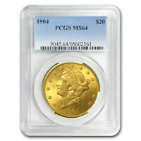 $20 Liberty Gold Double Eagle MS-64 PCGS (Random) - SKU #10292