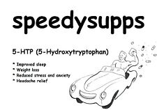 5-HTP (5-Hydroxytryptophan) 5 grams 5 htp other sizes ships from Aust mood sleep