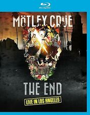 MOTLEY CRUE - THE END - LIVE IN LOS ANGELES BLU RAY  31st DEC 15 FINAL CONCERT!