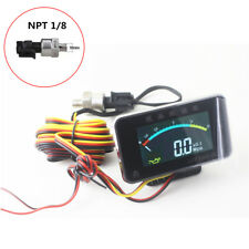 Universal Digital 12V 24V Lkw Auto Öldruckanzeige Motor 0-1.0MPA NPT 1/8 Sensor