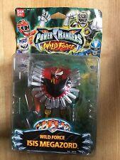 "Power Rangers - Wild Force ISIS MEGAZORD  5"" Figure 2002 Rare Boxed Figure"