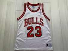 RARE CHICAGO BULLS BASKETBALL JERSEY #23 MICHAEL JORDAN CHAMPION NBA MEN SIZE 40