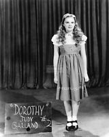 "JUDY GARLAND IN WARDROBE STILL FROM ""THE WIZARD OF OZ"" - 8X10 PHOTO (MW144)"