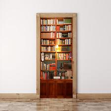 REGNO Unito misura 88 cm non 77cmW Vintage Libreria Porta Adesivi Murale Decalcomania Decorazione Casa