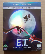 E.T. The Extra-Terrestrial (NEW slip Blu Ray ) Region B Import Full Engish Audio