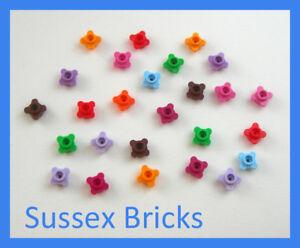 Lego 25x Plant Flower Edge Petal Head Plate Round 33291 City Friends 10 Colours