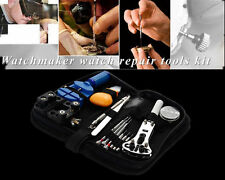 HOT SELL 13 Piece Watch Repair and Wrist Strap Adjust Battery Changing Kits Tool