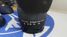 SIGMA 18-50mm F2-8 EX DC MACRO LENS -FOR-SONY-A-MOUNT