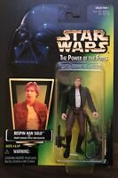 STAR WARS The Power of the Force BESPIN HAN SOLO Action Figure (1996)