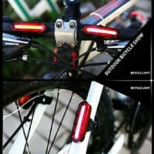 Bicycle Tail light 6 Light Modes Bike Rechargeable Light Multi-color Headlight