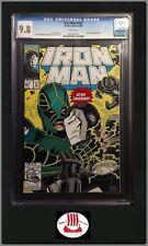 Iron Man #287 CGC 9.8 | War Machine Marvel 12/1992 WP 1st Atom Smasher