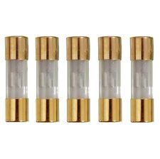 5 x  AGU 20 A Sicherung Glassicherung 38 x 10 mm 7191