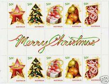 Francobolli australiani e oceaniani 10 francobolli