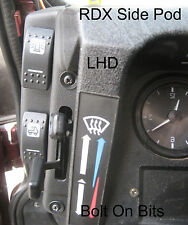 RDX LHD Side Pod for K Switches LandRover Defender 1983 - 2006 Dashboard Console