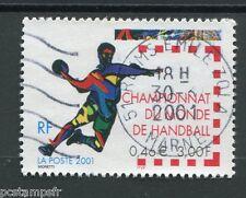 FRANCE - 2001, timbre 3367, SPORT HANDBALL, oblitéré