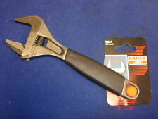 "Bahco Adjustable Spanner Wrench 9031 Extra Wide Jaw 38mm 8"" 200mm"