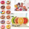 Rond 3D Donut Fruit Peluche Douce Coussin Oreiller Divan Jouet Chaise Siège
