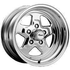 "Pacer 521P Dragstar 15x10 5x5"" -44mm Polished Wheel Rim 15"" Inch"