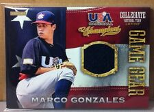 c079348caf2 2013 PANINI USA GAME GEAR JERSEYS  34 MARCO GONZALES SEATTLE MARINERS