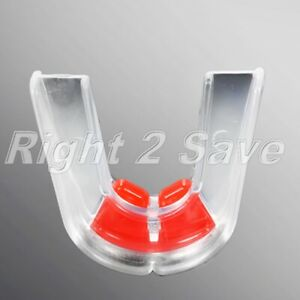MMA Boxing Mouthguard Mouth Guard Double Teeth Protector Gum Shield Mouthpiece