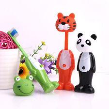 Cartoon Kids Toothbrush Children Soft Bristle Telescopic tooth Brus Mouth Clean