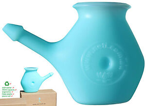 Virtually indestructible neti pot, will last a life time