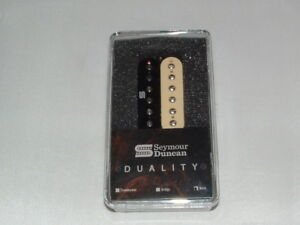 Seymour Duncan Duality 6 String Pickup Neck ZEBRA  New Warranty