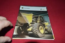 John Deere 644J Wheel Loader Dealer's Brochure Gdsd7