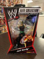 2010 WWE Elite Collection Unreleased JEFF HARDY Action Figure NIB Mattel Xtreme
