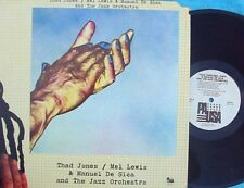 Thad Jones Mel Lewis & Manuel De Sica ORIG US LP EX '76 Pausa Jazz Hard Bop